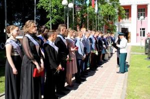 Россоны, выпускной, выпускники
