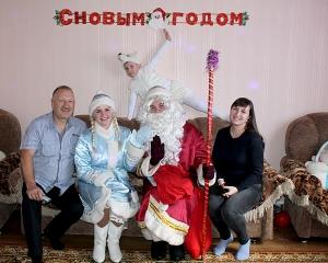 Россоны, дед мороз, новый год