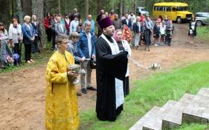 Попелки, открытие памятника