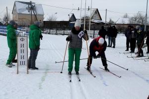 Россоны, лыжня