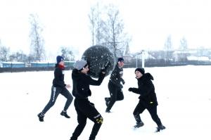 Россоны , День снега, спортивный праздник